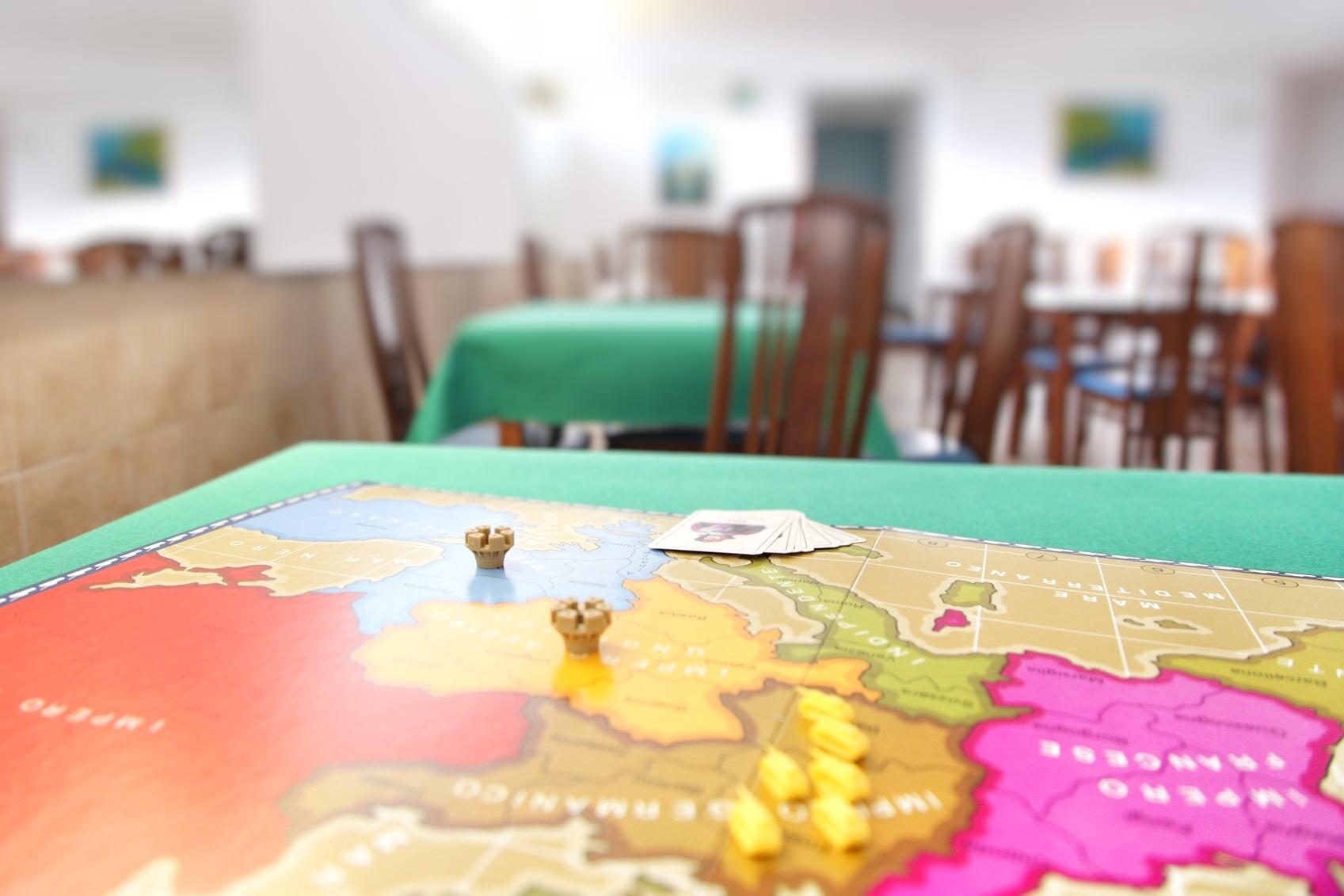Tavolo da gioco Hotel Mayola