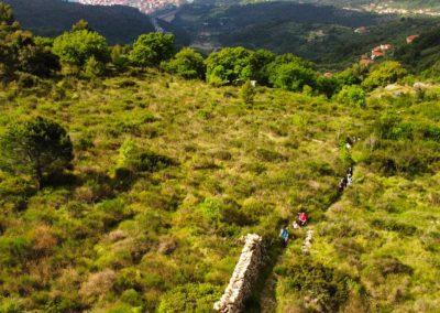 antica mulattiera da trekking
